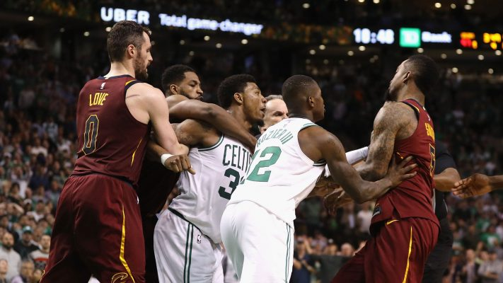 Cleveland Cavaliers and Boston Celtics