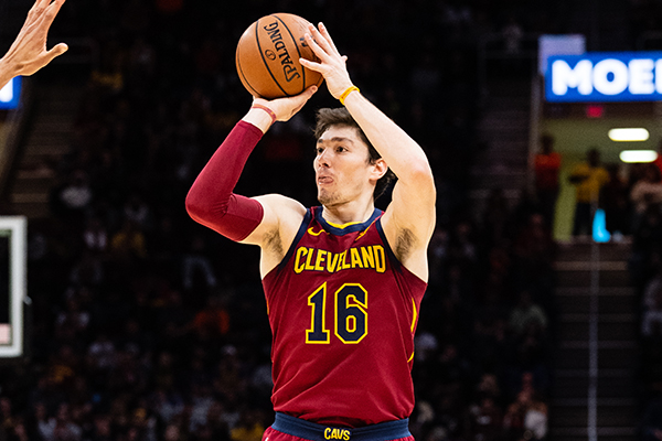pretty nice ff907 d7fb8 Cedi Osman Sends Warning to Rest of League After Cavs ...