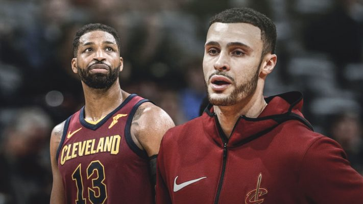 Tristan Thompson and Larry Nance Jr.