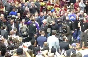 LeBron James Standing Ovation