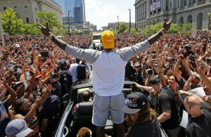 LeBron James Championship Parade