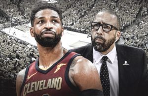 Tristan Thompson and David Fizdale