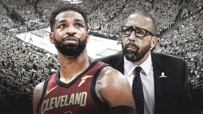 a1a764e73c1 David Fizdale Warned Tristan Thompson That LeBron James Would Leave ...