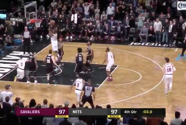 Alec Burks Dunk on Nets