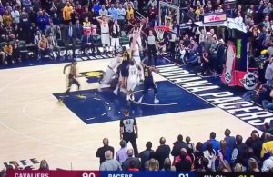 Larry Nance Jr. Cavs Buzzer-Beater