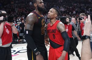 LeBron James and Damian Lillard