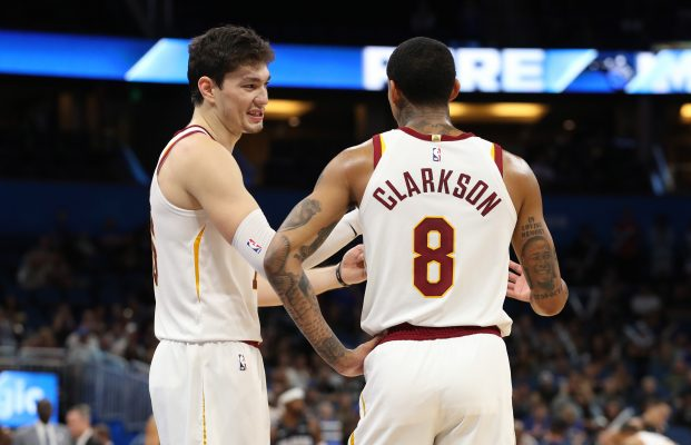 Cedi Osman and Jordan Clarkson