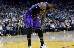 LeBron James Groin Injury