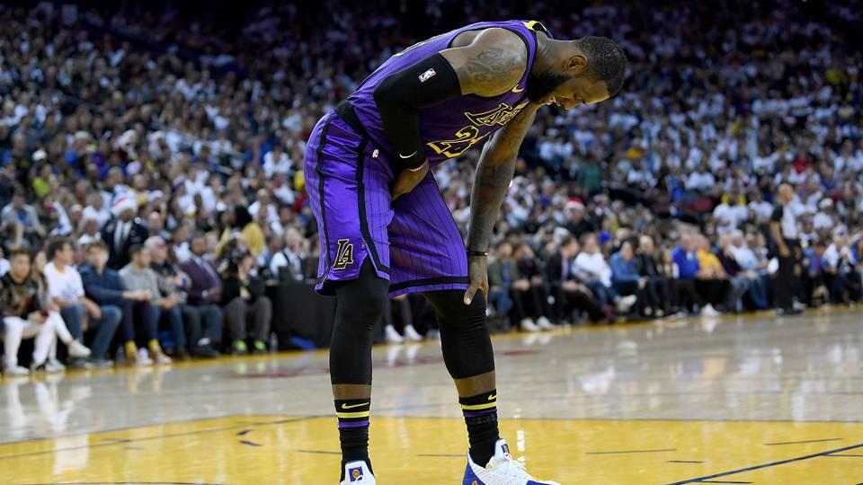LeBron James Groin Injury