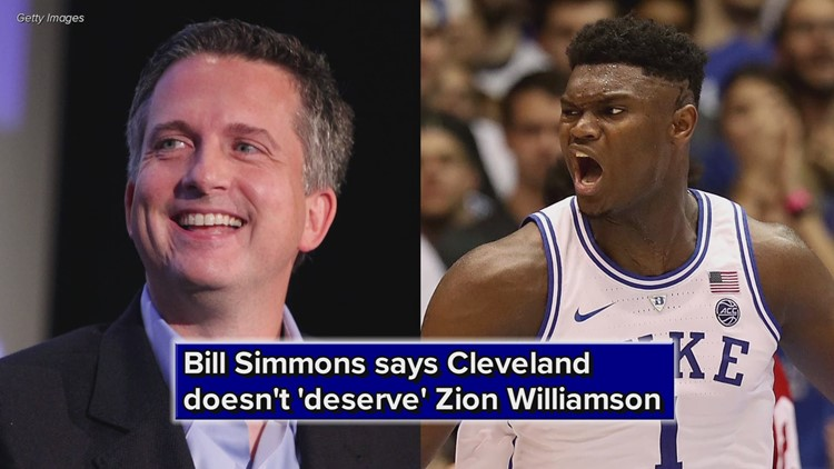 Bill Simmons Zion Williamson Cavs