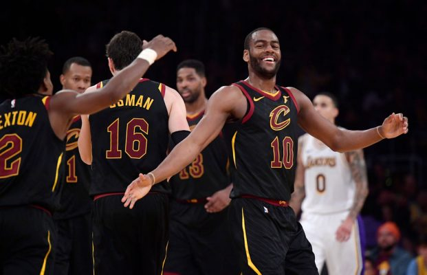 best sneakers 518db af159 Report: Cavs Looking to Move Rodney Hood and Alec Burks 'at ...