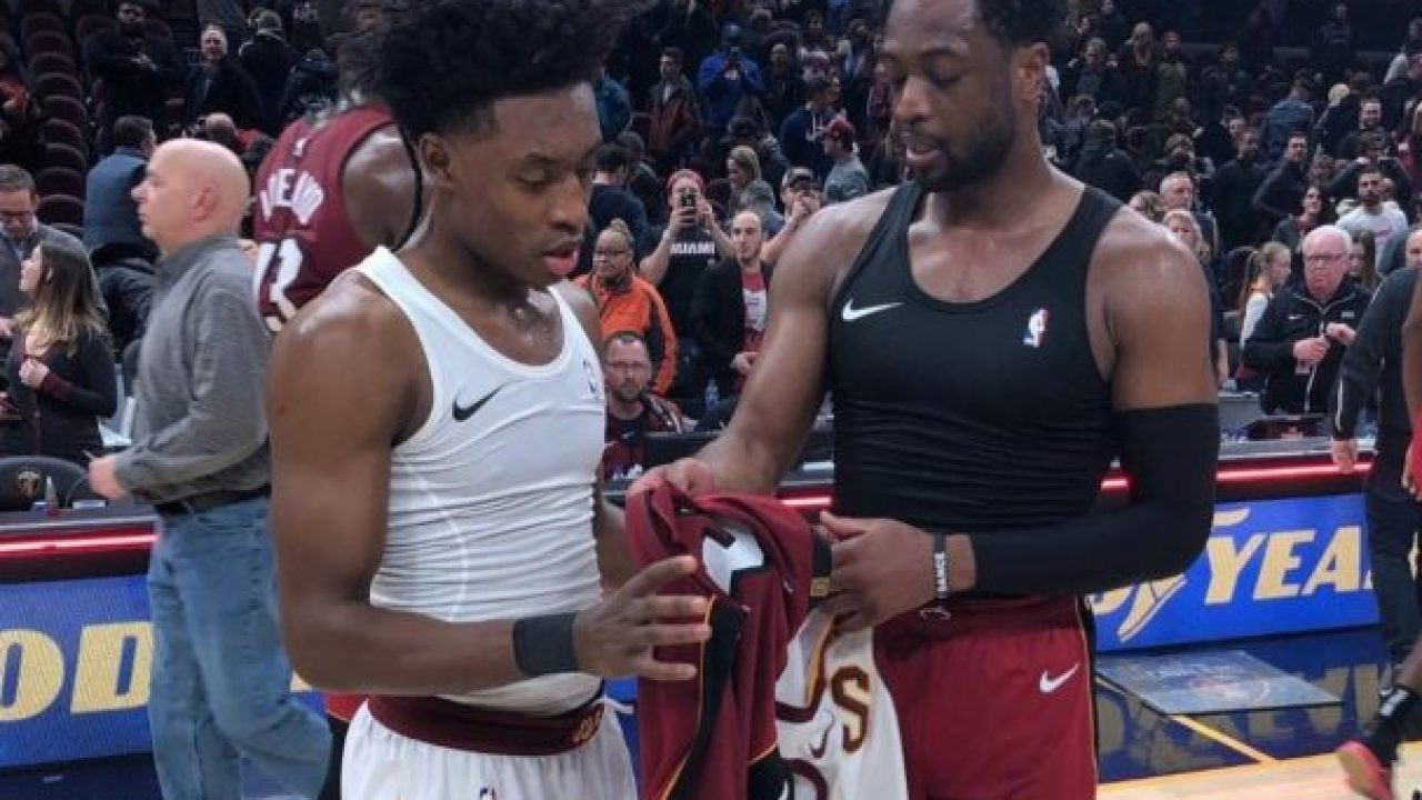 huge discount c34de 577c1 Cavs Players Hilariously Ponder Who Dwyane Wade Will Give ...
