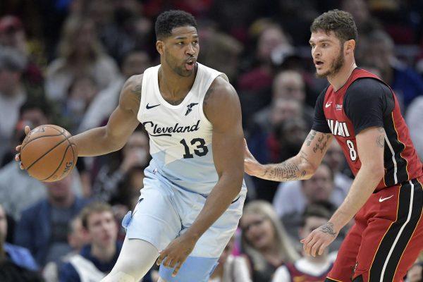Tristan Thompson Cavs Miami Heat