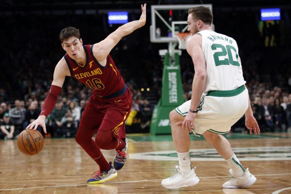 Cedi Osman and Gordon Hayward