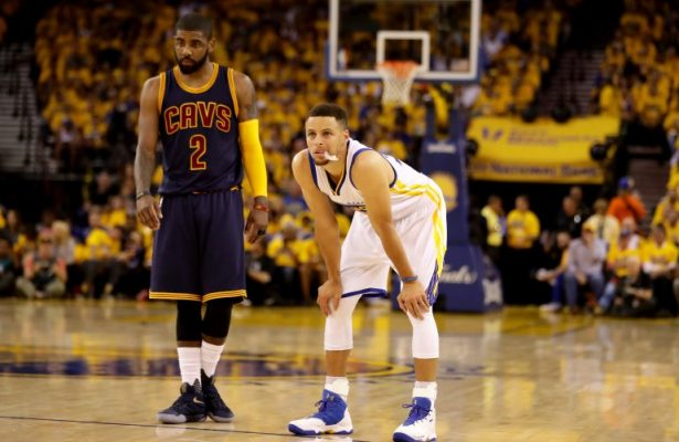 Kyrie Irving Steph Curry Cavs Warriors
