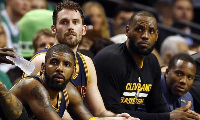 Kyrie Irving apologized to LeBron James for not listening in Cleveland