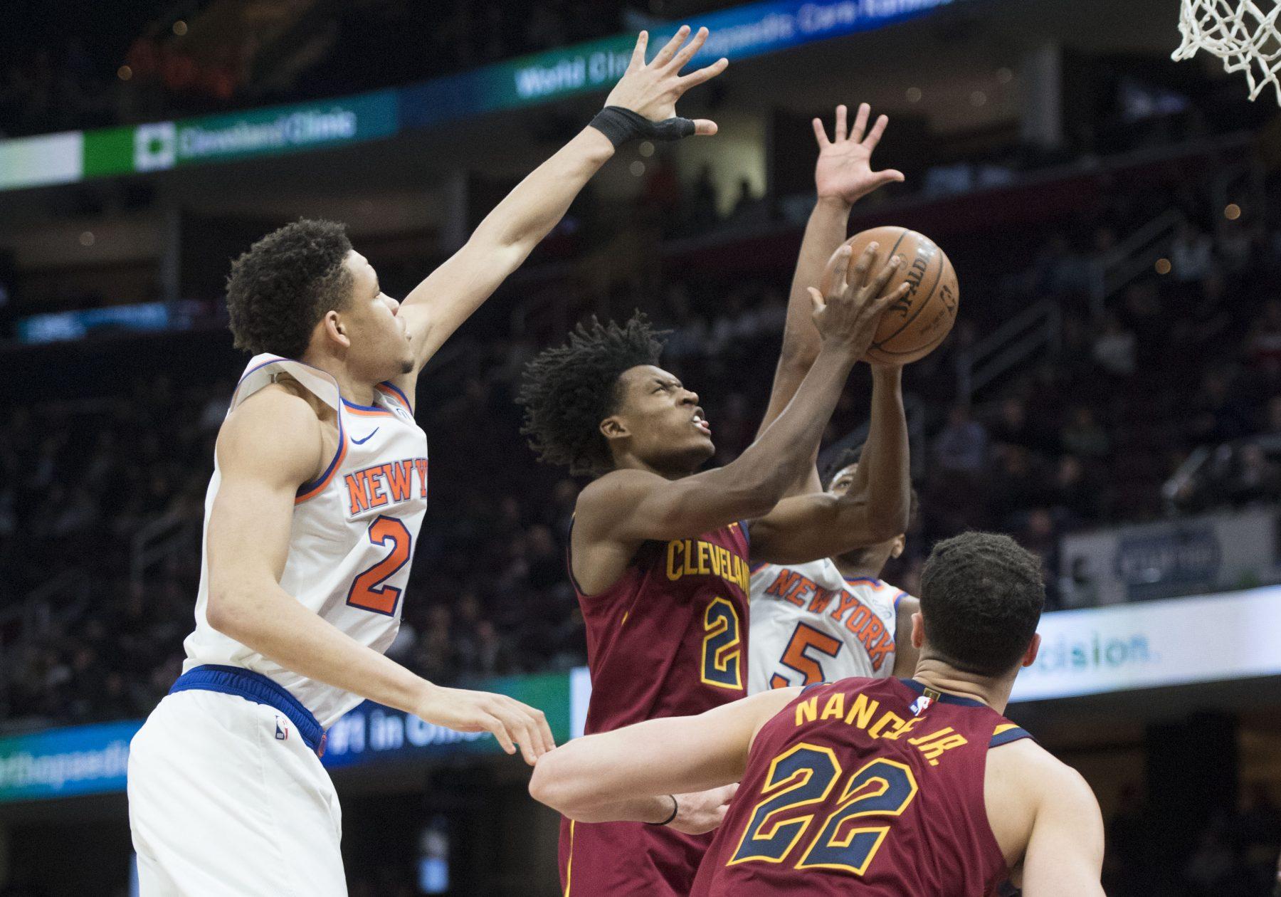 Collin Sexton Cavs Knicks
