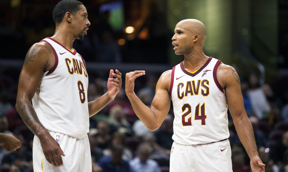 Channing Frye and Richard Jefferson Cavs
