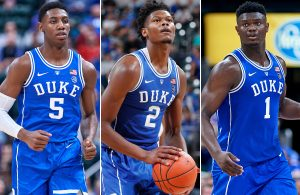 RJ Barrett, Cam Reddish, Zion Williamson