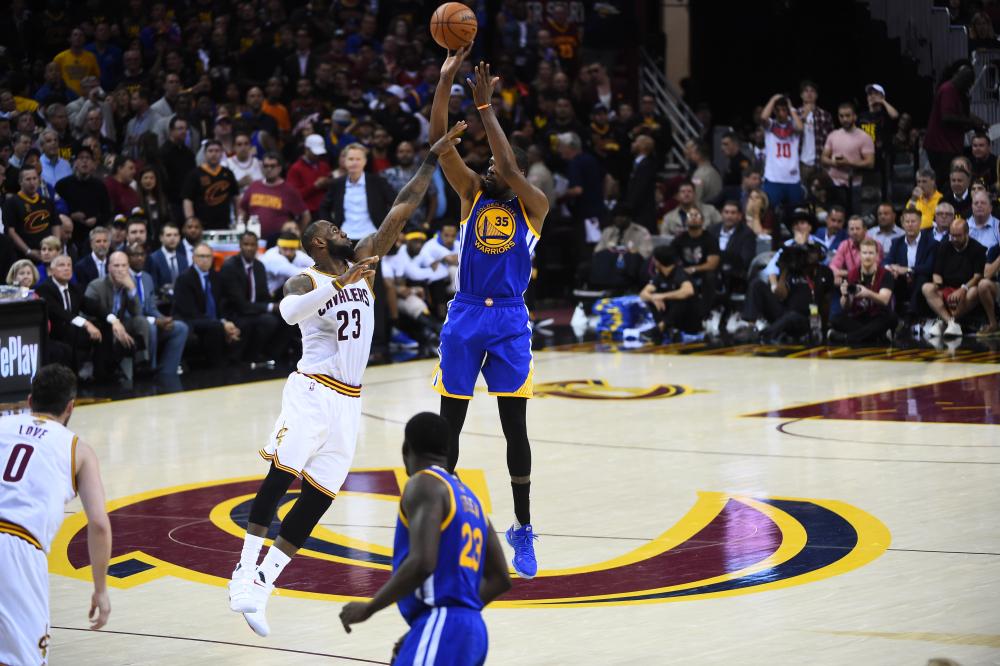 Kevin Durant LeBron James NBA Finals
