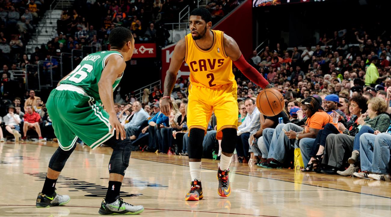 Kyrie Irving Rookie Cavs Celtics