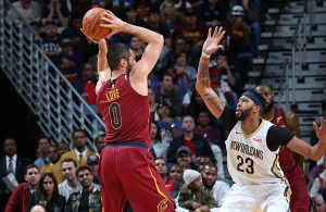 Kevin Love Cavs Anthony Davis