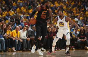 LeBron James Game 1 Warriors Finals