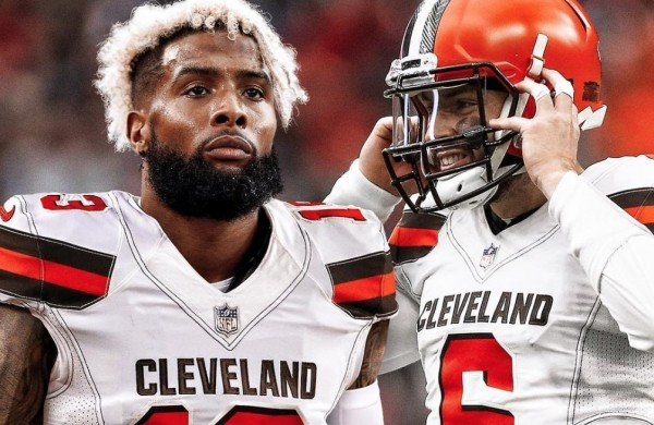 ef77fb761dd Cavs Players Clown on Odell Beckham Jr. s Move to Cleveland Browns