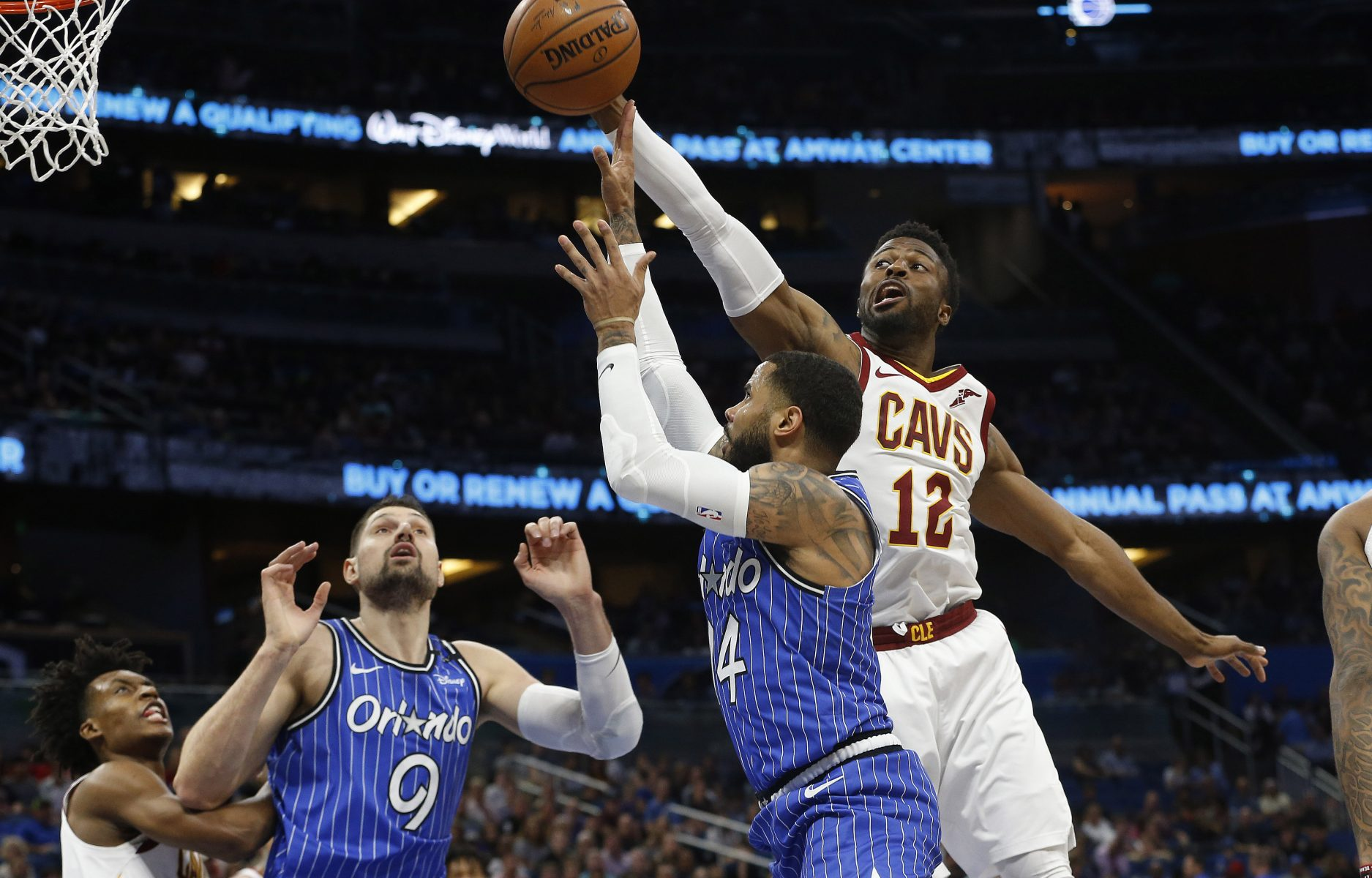 best sneakers 47848 9b864 Report: Cavs Would Keep David Nwaba at Right Price ...