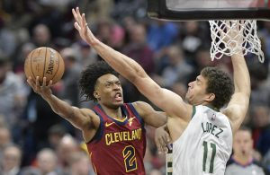 Collin Sexton Cleveland Cavaliers Brook Lopez Milwaukee Bucks