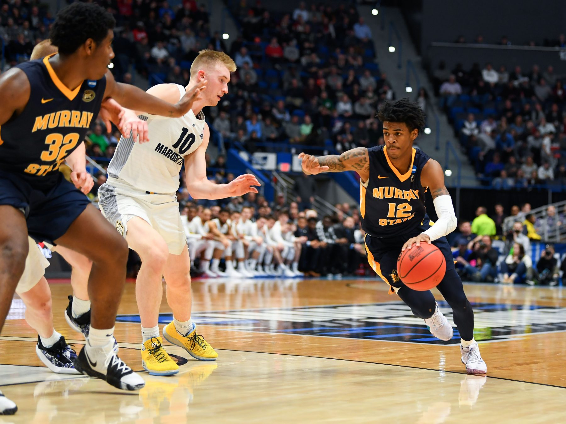 Ja Morant Records First Triple-Double In NCAA Tournament Since Draymond Green
