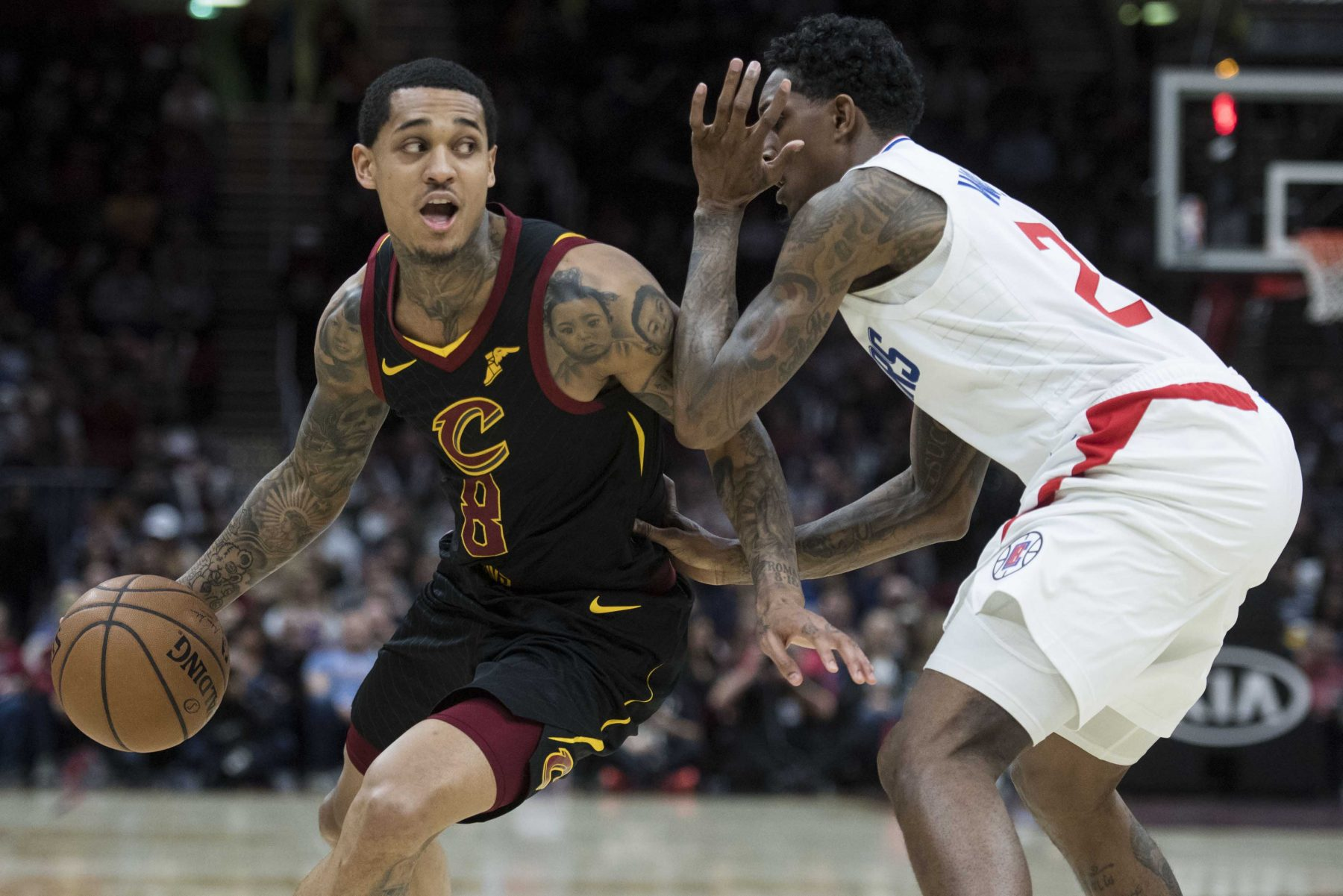 Jordan Clarkson and Lou Williams