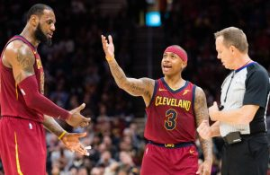 LeBron James and Isaiah Thomas Cavs