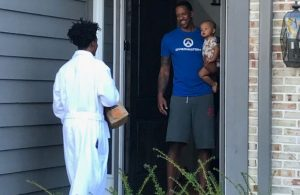 Collin Sexton Delivers Breakfast Channing