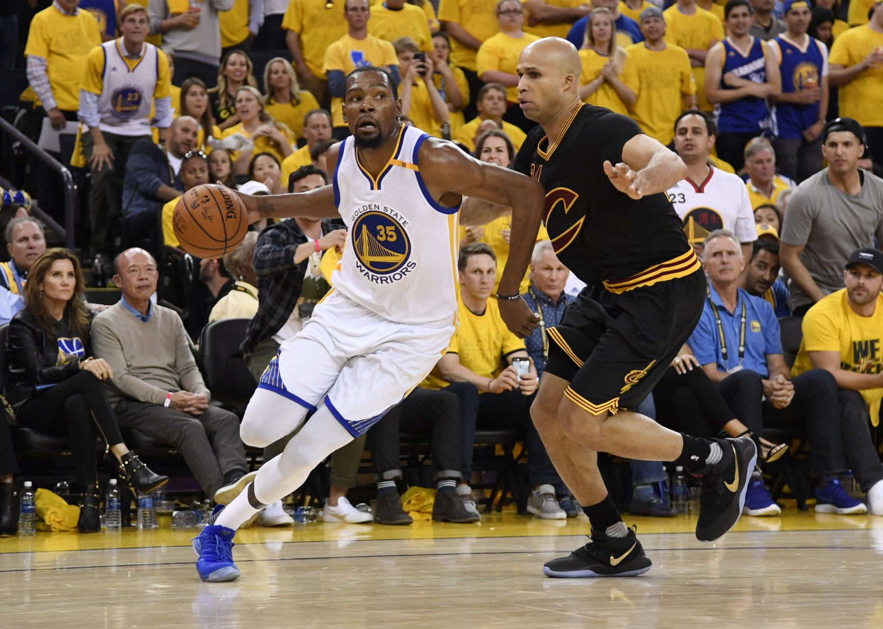 8dca17bc1e2 Golden State Warriors Cleveland Cavaliers Kevin Durant Richard Jefferson
