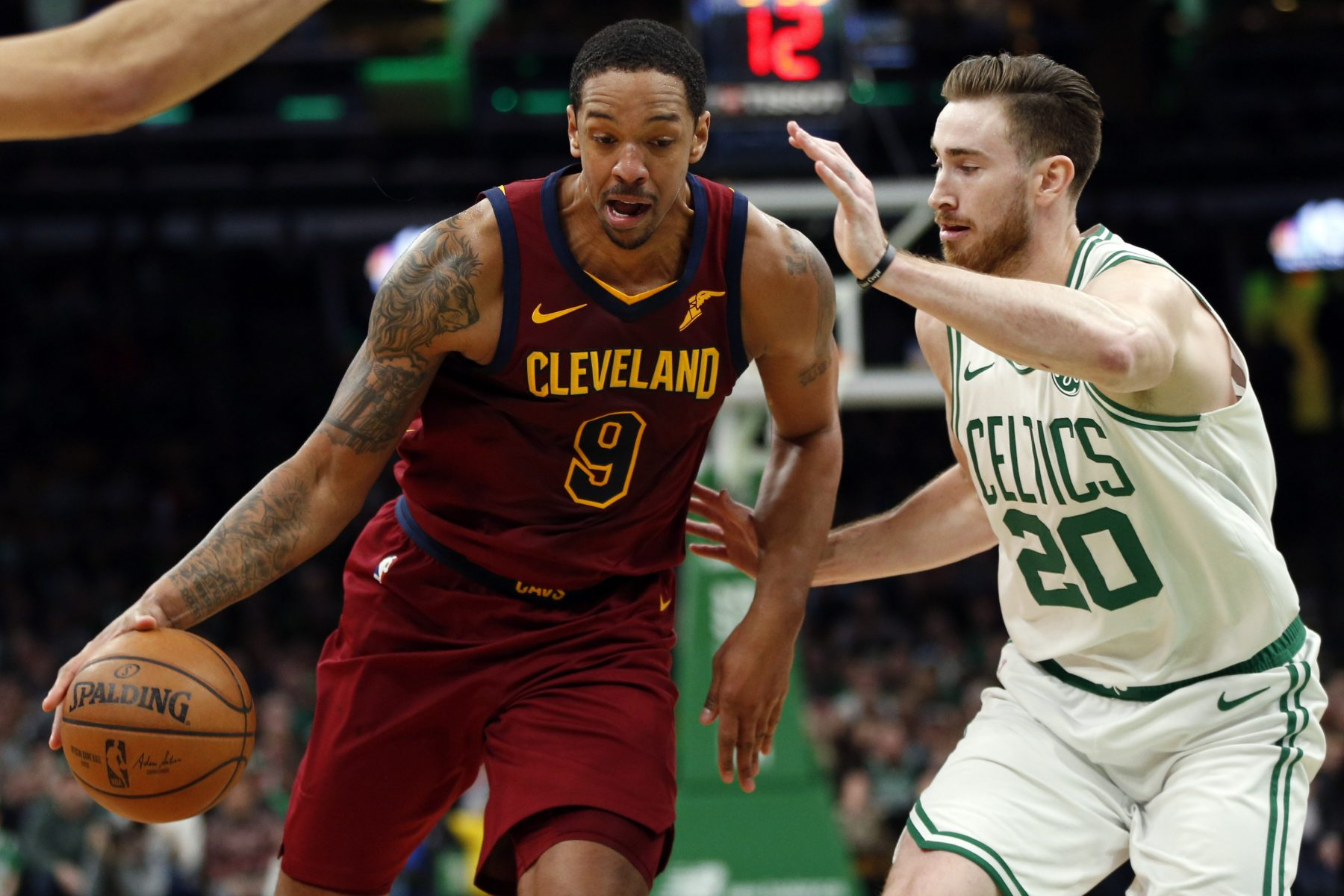 Channing Frye and Gordon Hayward