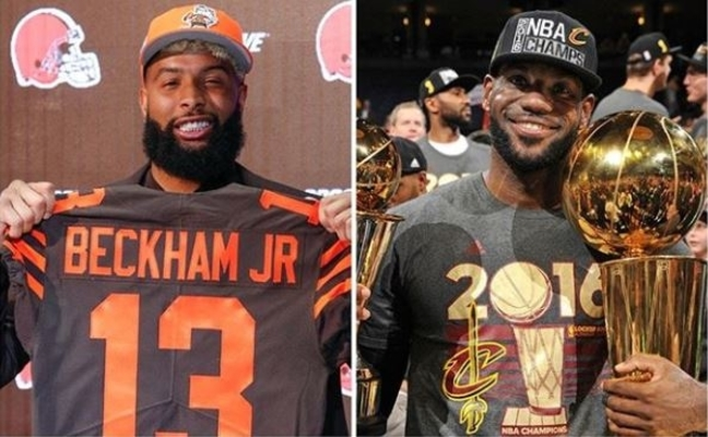 new styles 3f93c f469f Odell Beckham Jr. Says He Wants to Follow in LeBron's ...