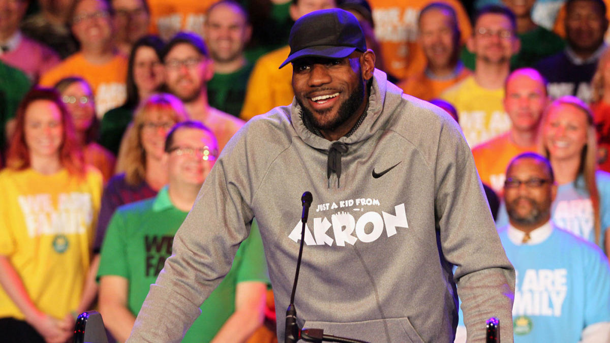 LeBron James Akron
