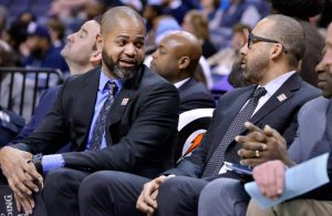 J.B. Bickerstaff and Coach Fizdale