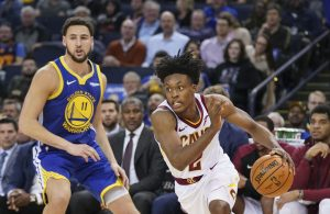 Cleveland Cavaliers Golden State Warriors Collin Sexton Klay Thompson