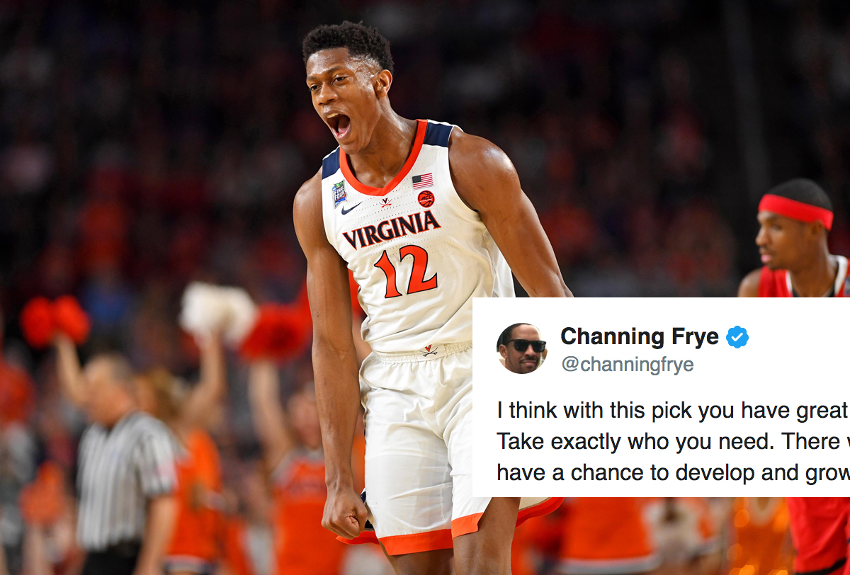 bf6068743726 Channing Frye Explains Why He s Excited About Cavs Landing 5th Pick ...
