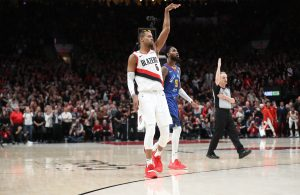 Rodney Hood Trail Blazers Denver Nuggets
