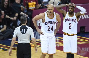 Richard Jefferson and Kyrie Irving