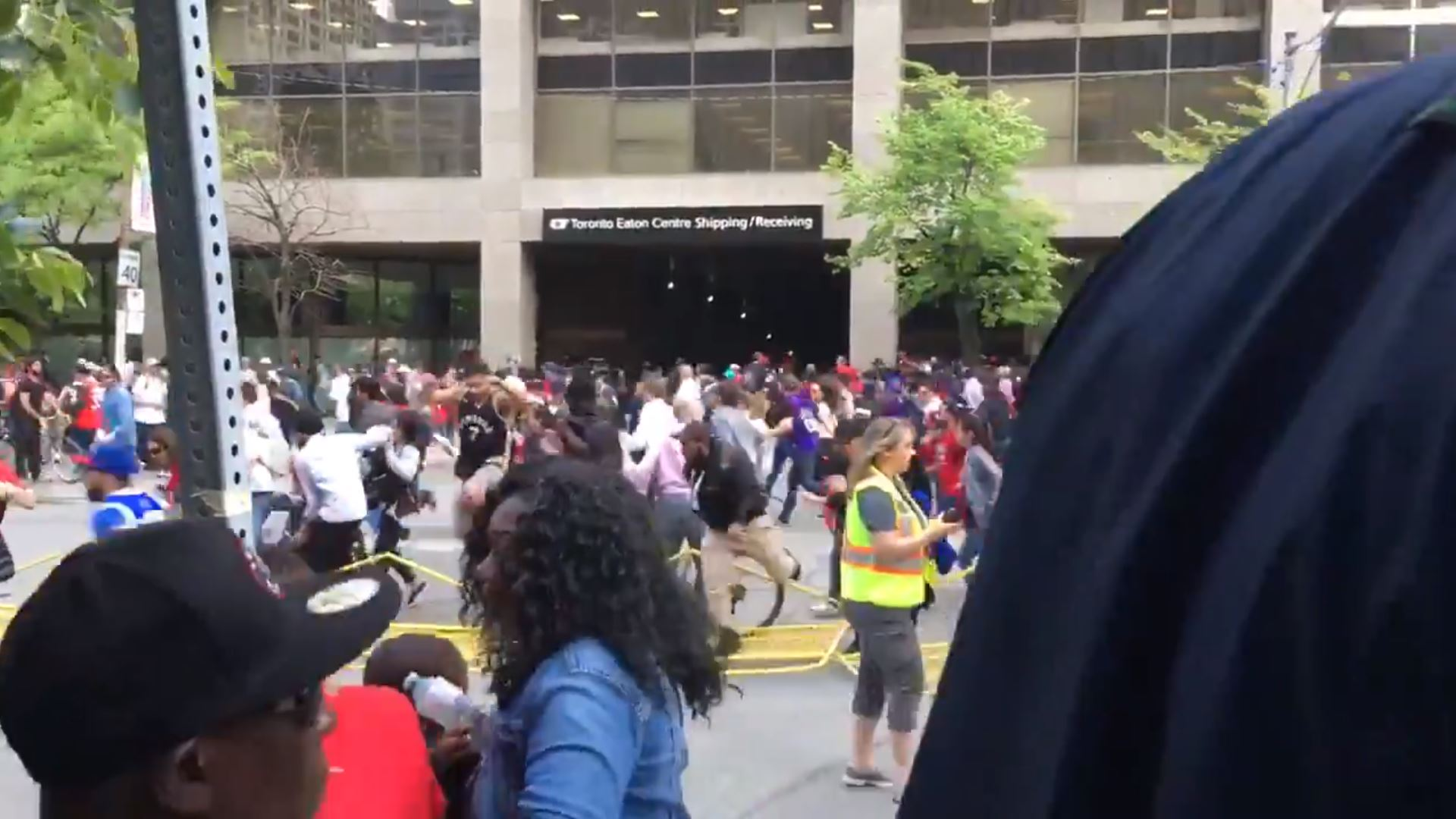 Toronto Raptors Parade Shooting