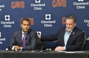 Koby Altman and Dan Gilbert