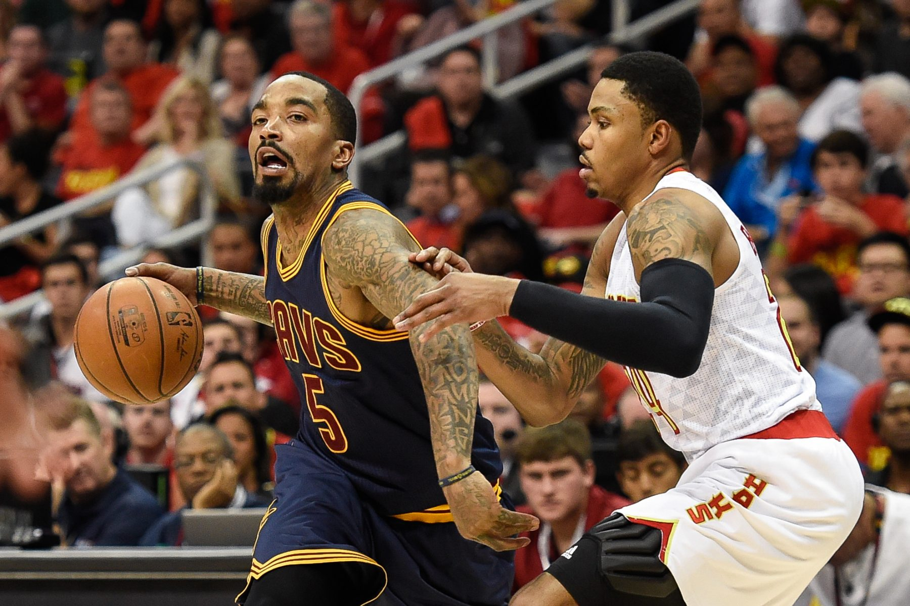 J.R. Smith and Kent Bazemore