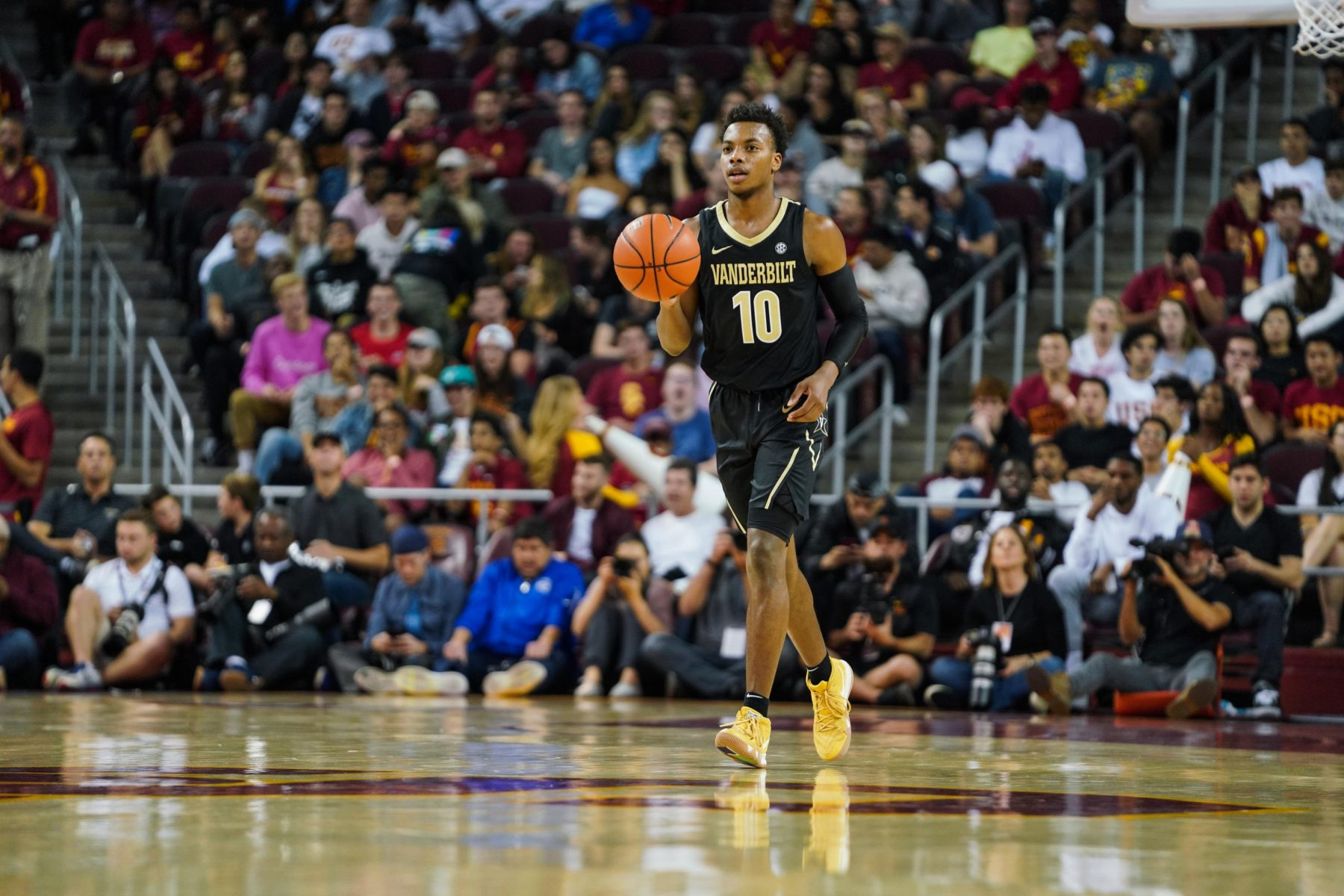 Cavs had large group attend Darius Garland workout