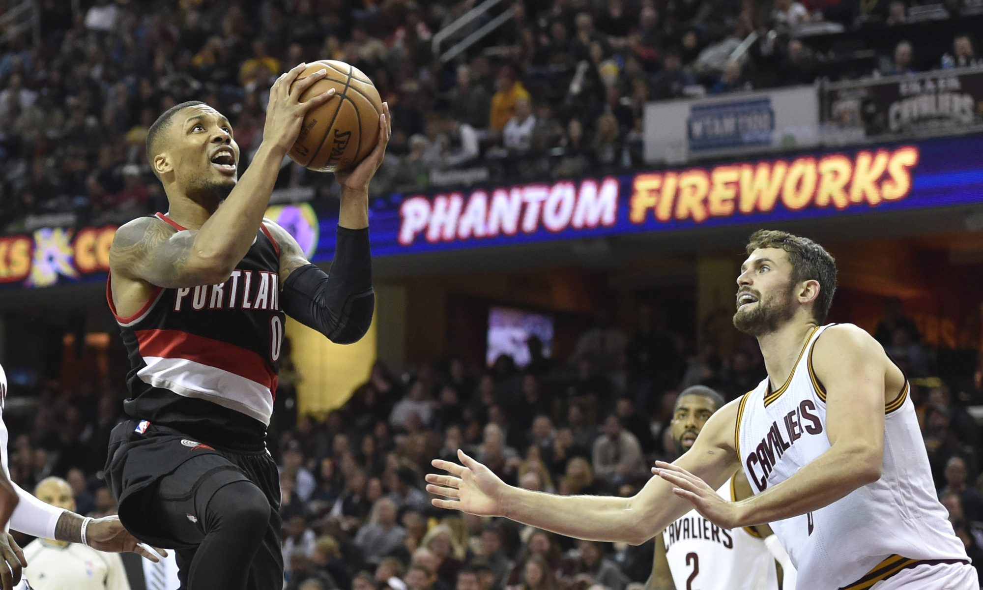 Damian Lillard and Kevin Love