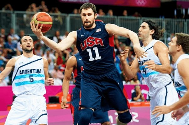 Kevin Love is latest National Basketball Association star to withdraw from Team USA