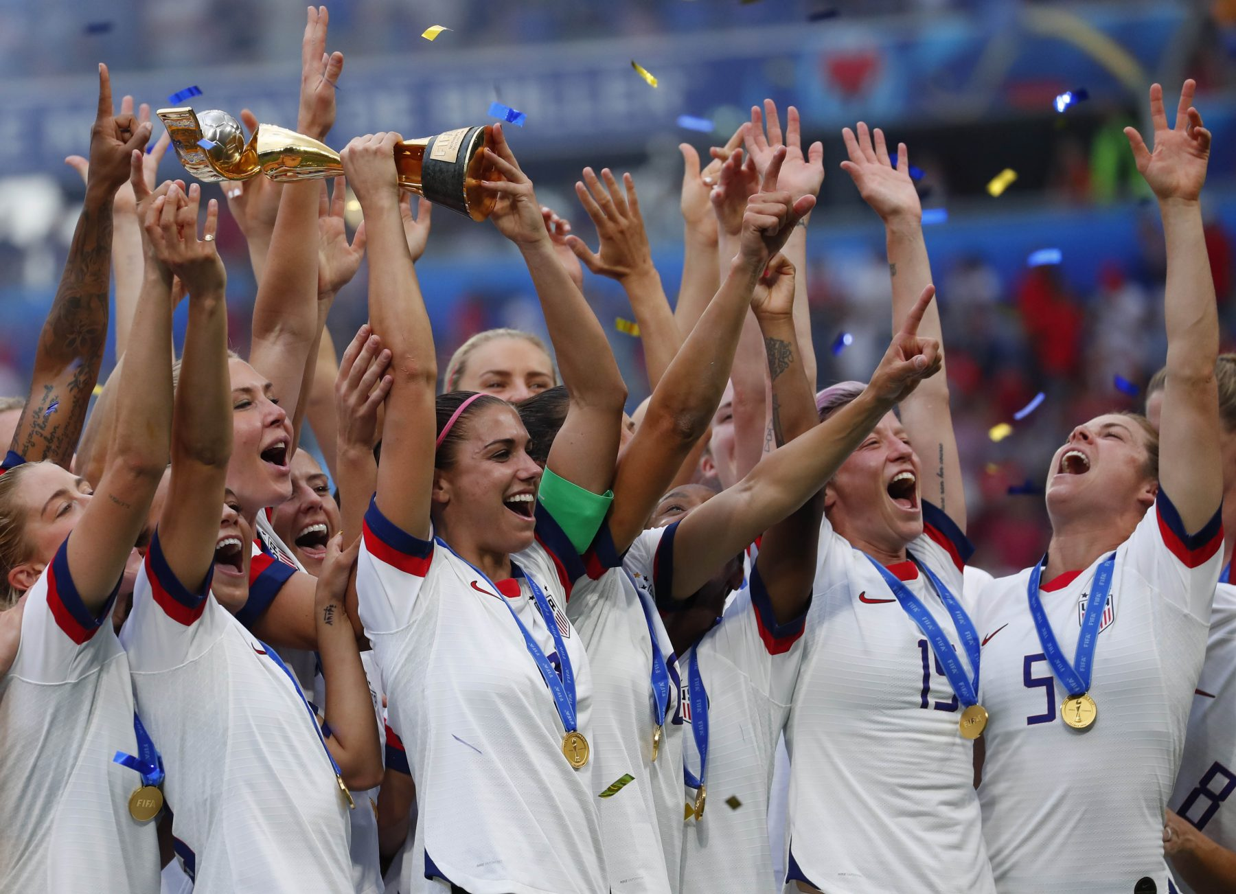The United States women's soccer team
